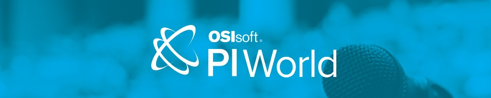 PI World, OSIsoft Conference 2020 Banner
